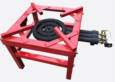 China High Fire LPG Cast Iron Gas Burner Stove , Gas 3 Ring Burner Cast Iron supplier