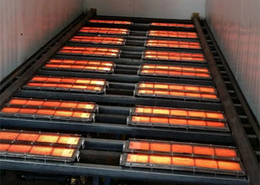 China Powder Coating Oven Industrial Infrared Burners , Ceramic Infrared Burner BBQ supplier