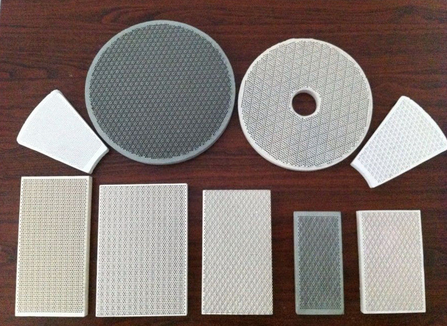 Cordierite Porous Various Infrared Honeycomb BBQ Ceramic Plates For Gas Burners & Cordierite Porous Various Infrared Honeycomb BBQ Ceramic Plates For ...